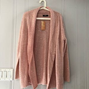 🆕 Pink Knitted Cardigan BNWT